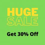 Get 30% Off Sale